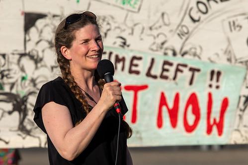 Tanja Schwarz, Moderatorin beim Klimamontag