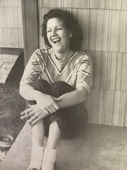 A laughing Gloria