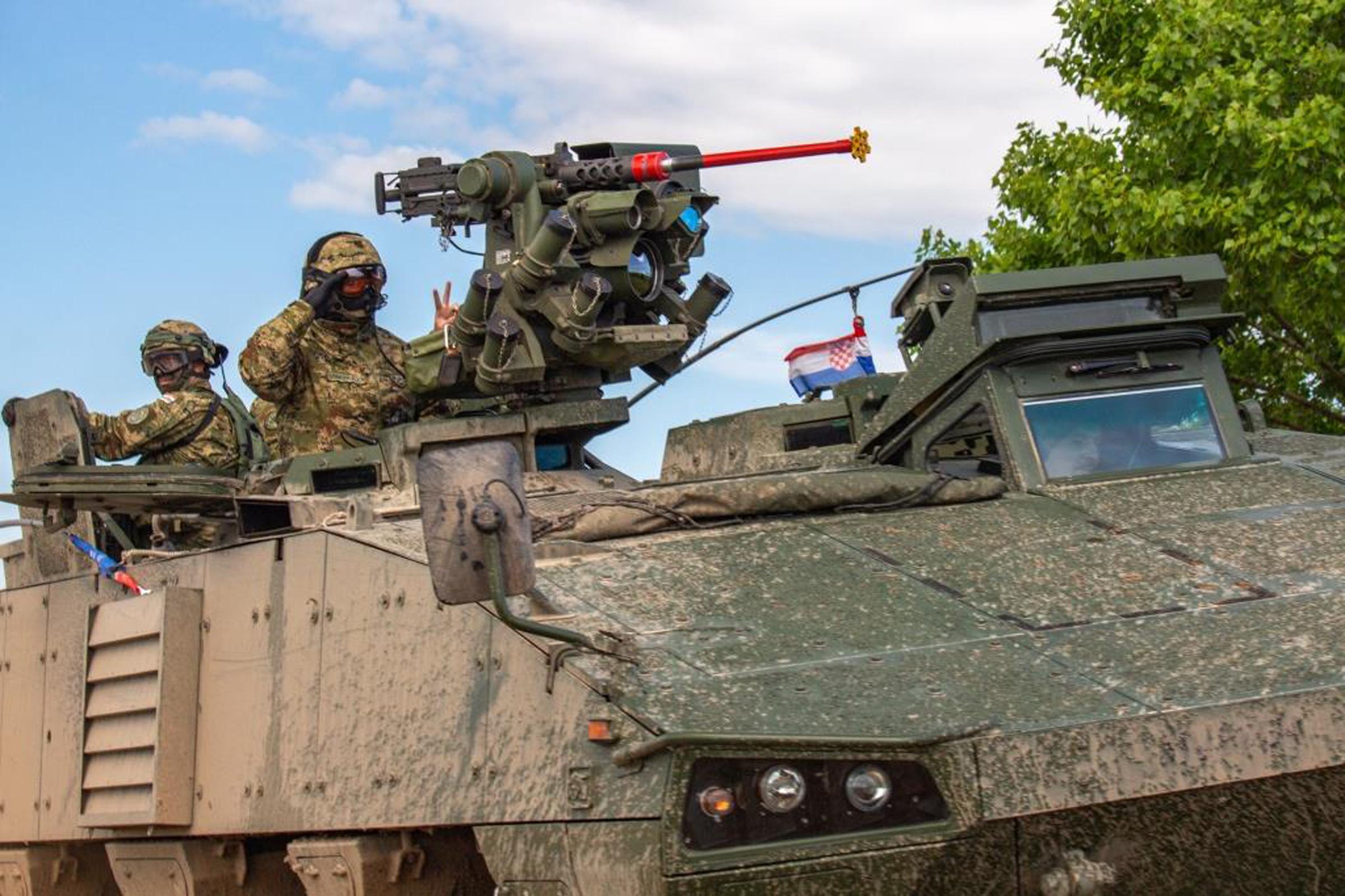 Pripadnici Hrvatske vojske na međunarodnoj vojnoj vježbi