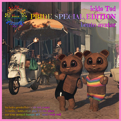 Jinx - Ickle Ted PRIDE special edition bento avatar