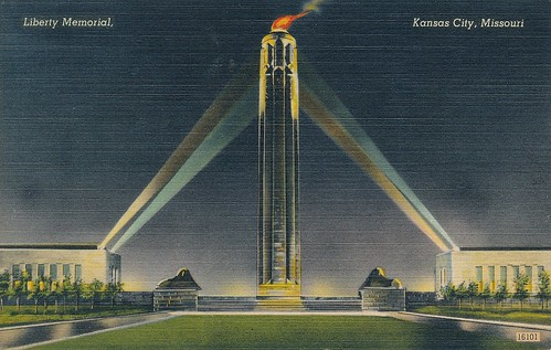 1944 Kansas City Postcard