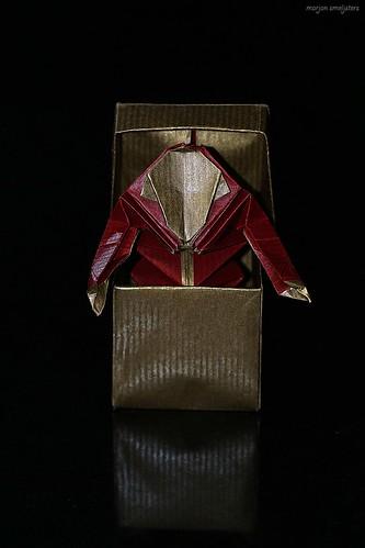"""Origami """"Jack in the Box"""" (Max Hulme)"""