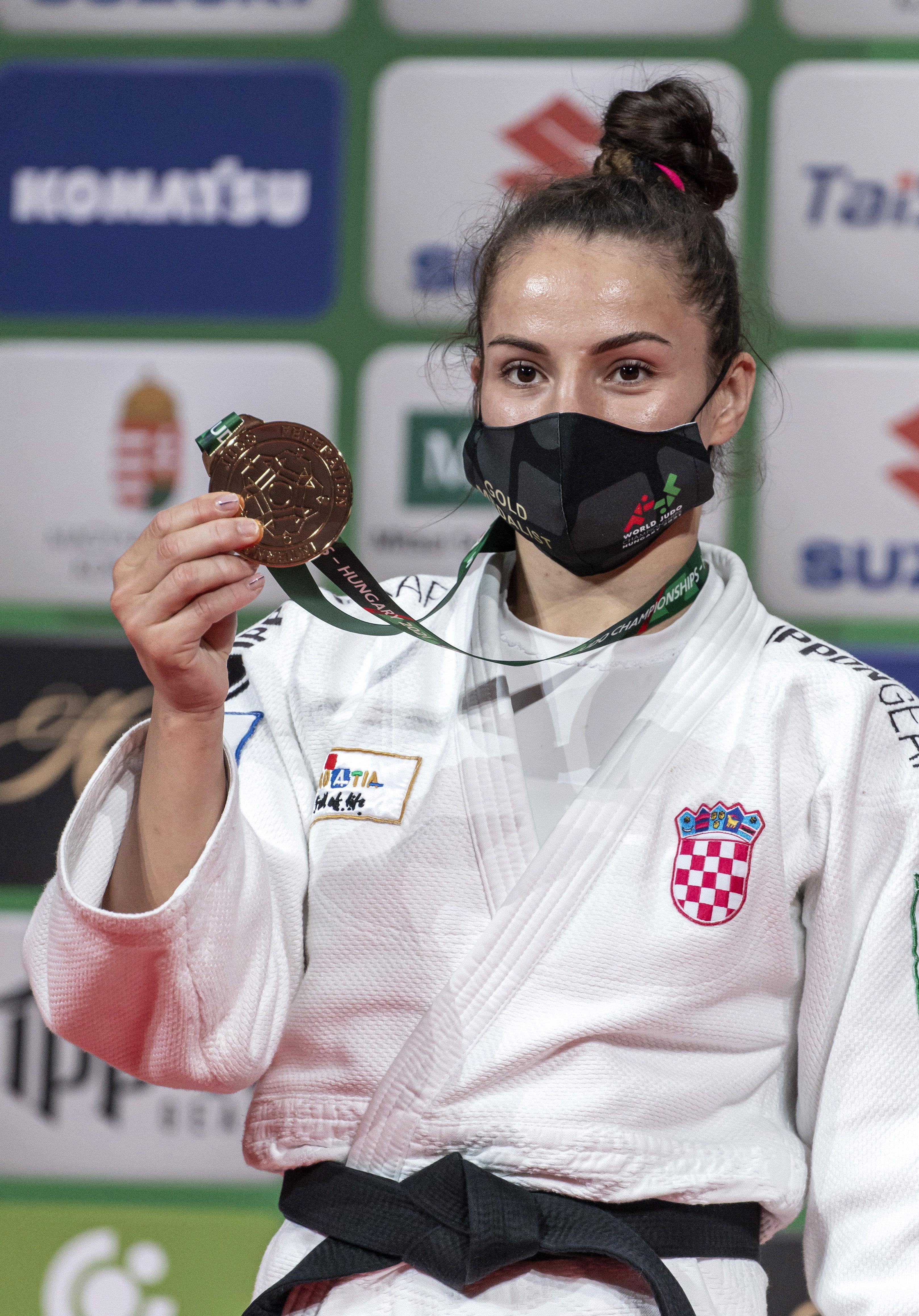 Judašici Barbara Matić osvojila zlato na svjetskom prvenstvu u judu u kategoriji do 70 kilograma u Budimpešti