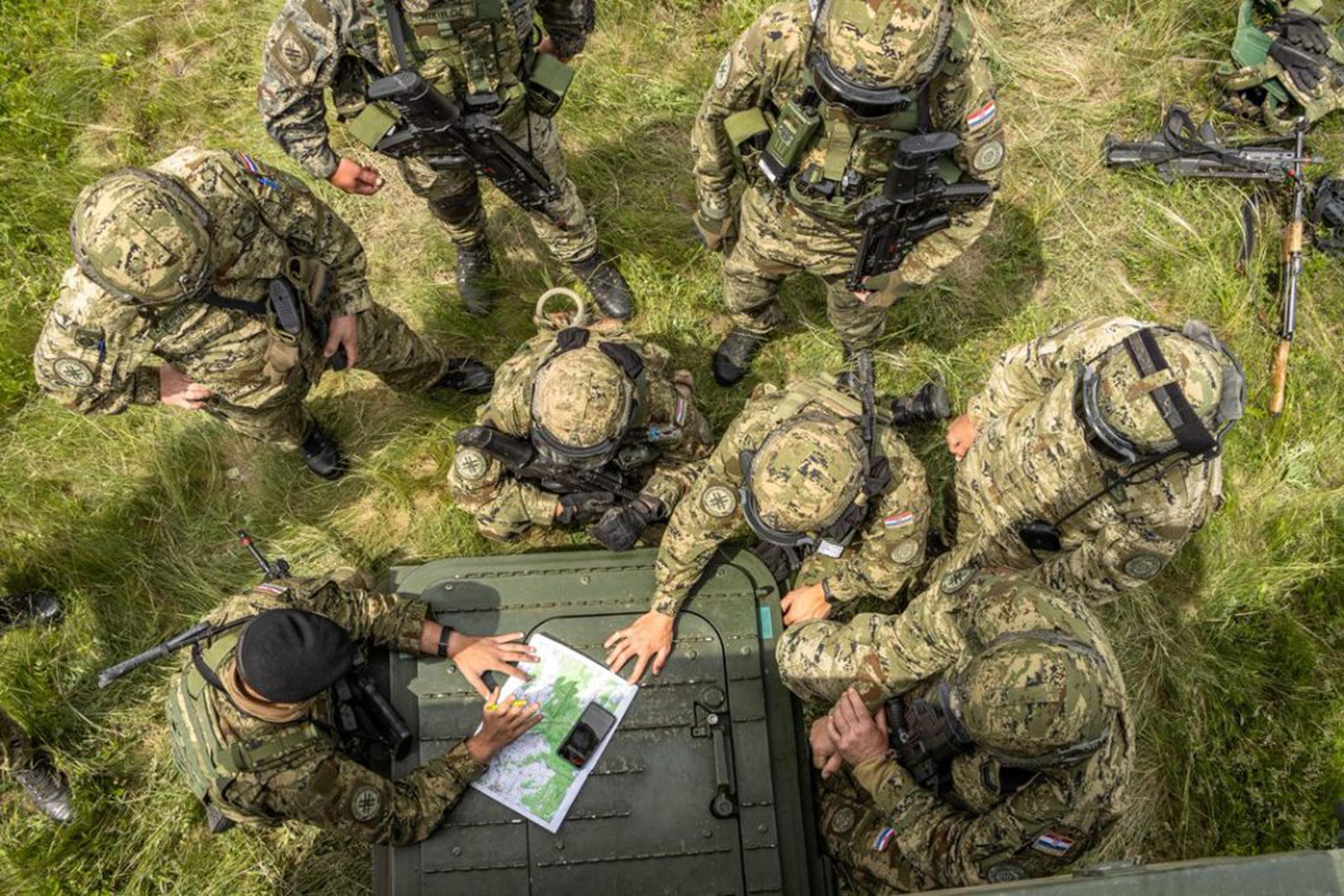 Pripadnici Hrvatske vojske na međunarodnoj vojnoj vježbi 'Brave Warrior 21' u Mađarskoj