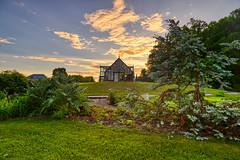 Conservatory at Sunrise