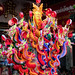 New Year's 2018 Bangkok, Thailand on Yaowarat Rd: colorful ornaments and trinkets for the festivities. 640a