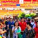 New Year's 2018 Bangkok, Thailand on Yaowarat Rd: many people have gathered to this location. 652-a