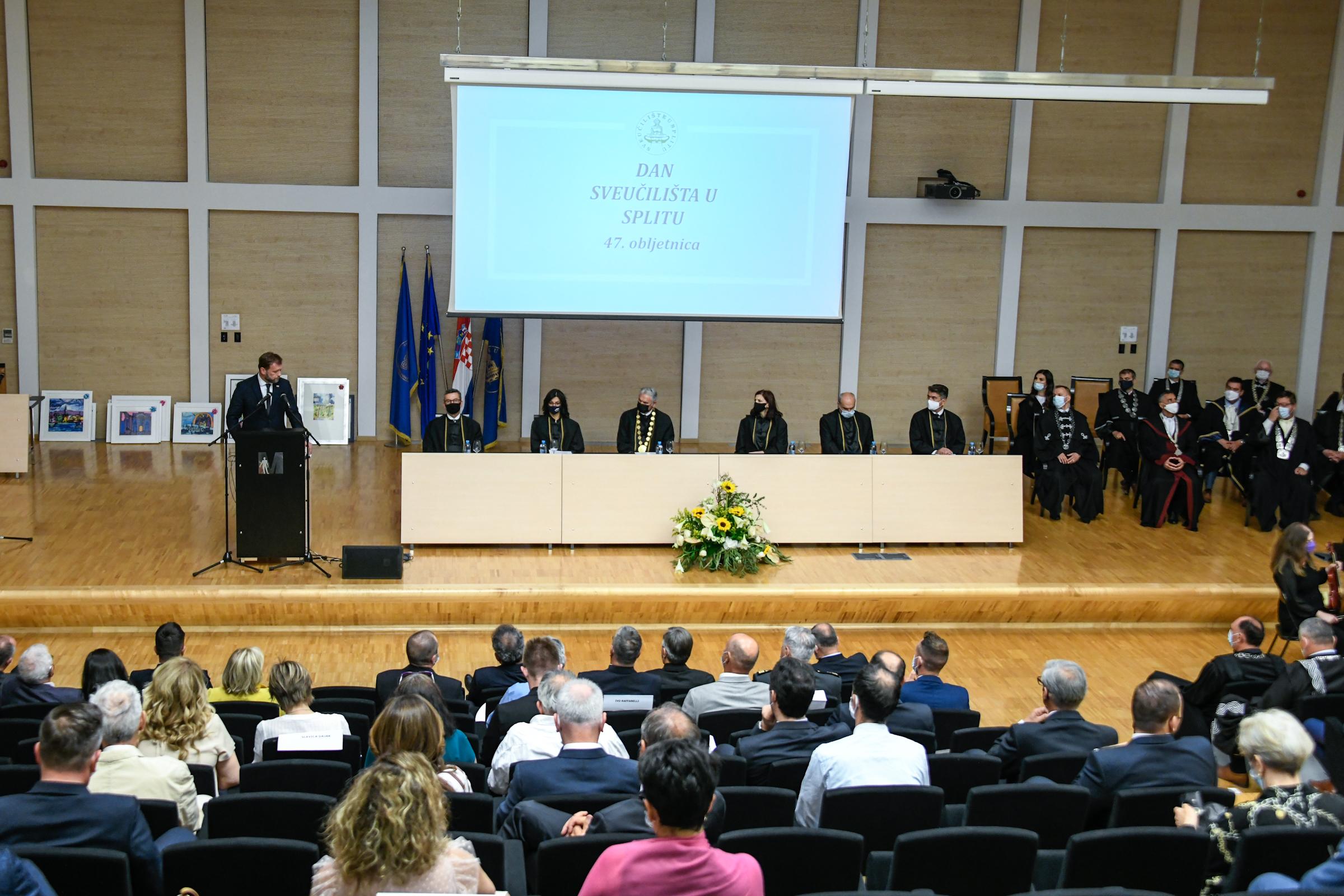 Banožić na proslavi 47. obljetnice osnutka Sveučilišta u Splitu