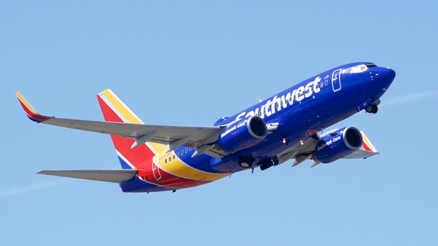 023 Southwest Boeing 737 -700 2007 DSC_0023