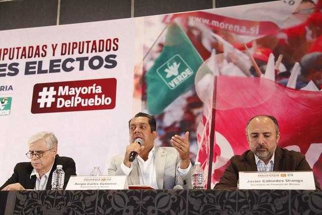 17/06/2021 Participación Diputado Sergio Gutierrez Luna- Encuentro Diputadas Y Diputados Federales Electos