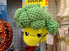 Angry broccoli
