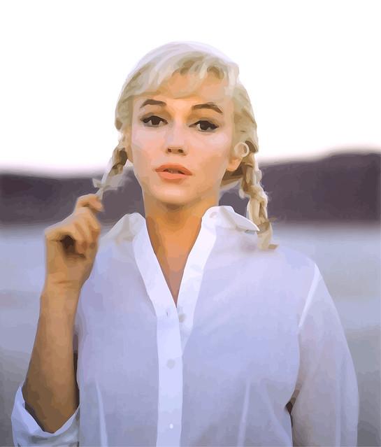 Photo:Marilyn Monroe en el rodaje de Los inadaptados (1961) By Antonio Marín Segovia