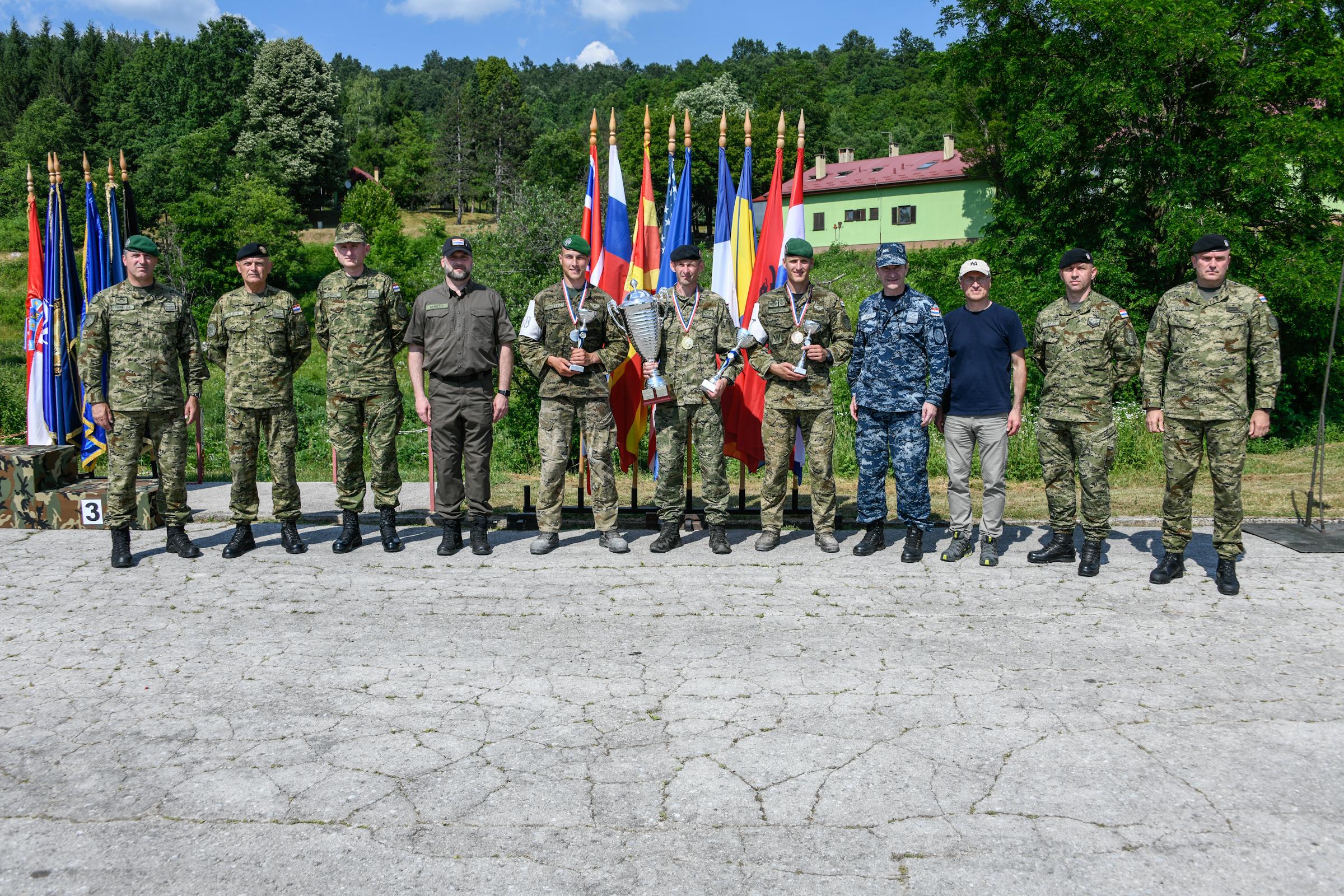 Satnik Ivan Gerenčir pobjednik natjecanja Prvi za Hrvatsku 2021.