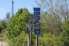 Old National Pike at MD 144 WB to I-70/US 40 WB