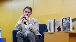 Conversatorio con Pablo Montoya - P. B. Pbro. José Luis Arroyave, San Javier