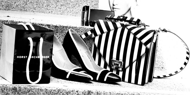 Bag, Shoes, bag and some cosmetics