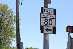 Campus Dr at MD 80 EB