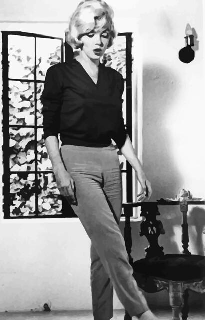 Photo:Fotografiado de Marilyn Monroe por Allan Grant para la revista LIFE, 4 de julio de 1962 By Antonio Marín Segovia