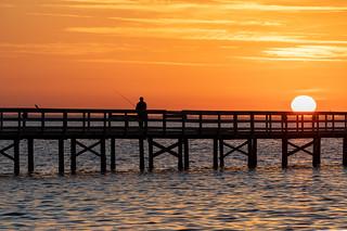 Safety Harbor Sunrise Fisherman (3)