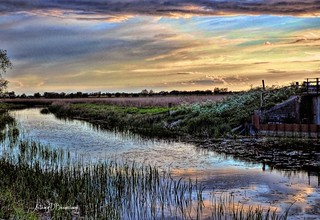 Fenland Sunset 699achdrw-1