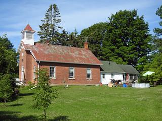 The former Philipsville Schoolhouse in Philipsville, Ontario