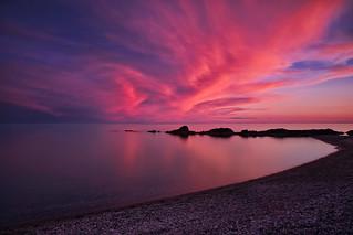 Pebble Beach, Lake Superior, Ontario, Canada