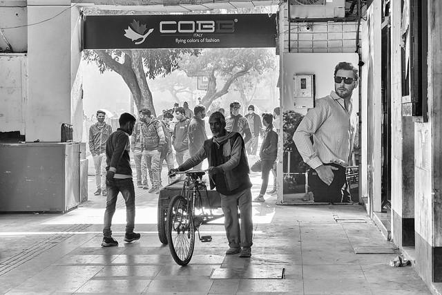 New Delhi – A man's world