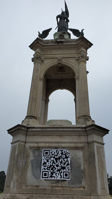 Photo:The empty Francis Scott Key monument By BuddyL
