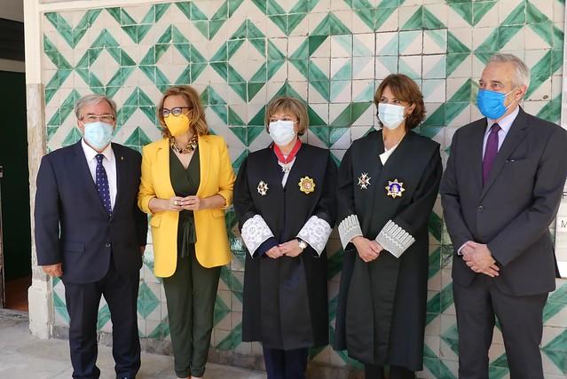 Toma de Posesión de la Fiscal Superior de Aragón