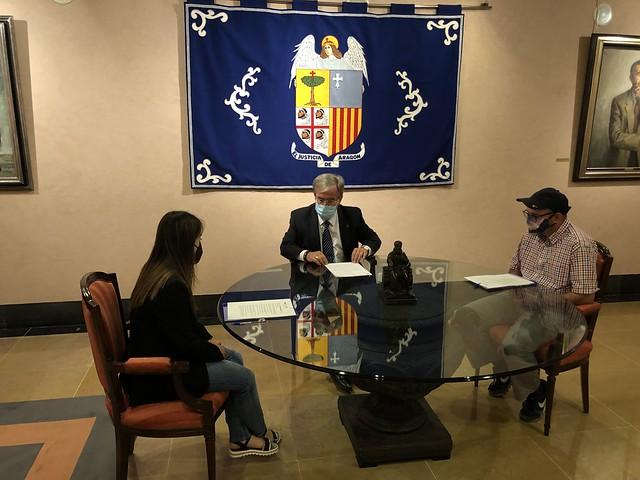 Entrevista redactores CADIS Huesca