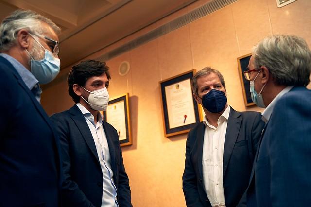 Visita del Presidente de la Comisión Jurídica del Parlamento Europeo