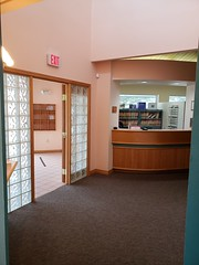 Checkout office and entrance to Largo Dental and Implant Center