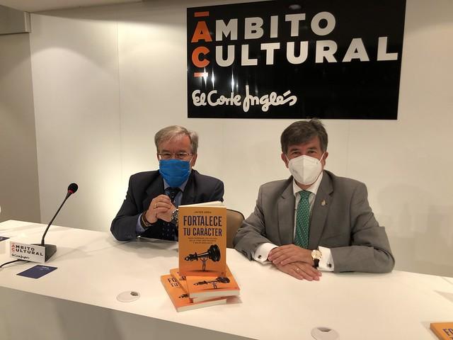 Presentación libro de Javier Urra, primer Defensor del Menor de Madrid