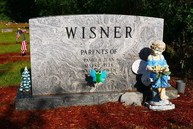 Photo:Wisner grave marker in Alsea Cemetery By Only in Oregon