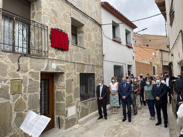 Homenaje a María Domínguez en Pozuelo