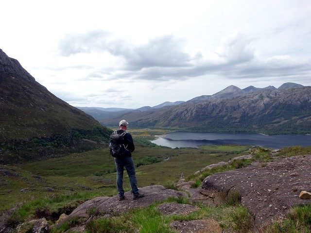 Photo:Looking out over Loch Maree from the base of Slioch By markhorrell