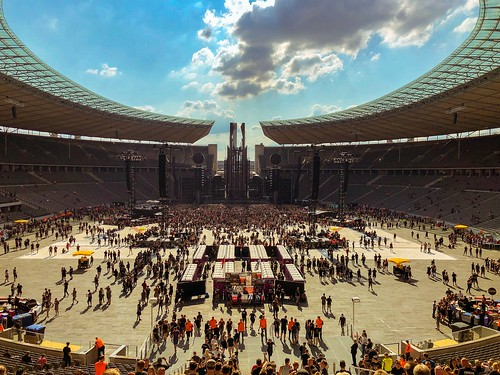 when we got to the Olympiastadion