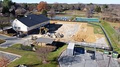 Demolition of North Creek pool [07]