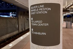 Misspelled sign at Wiehle-Reston East station [02]
