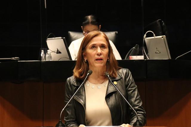23/06/2021 Tribuna Diputada Carmen Almeida Sesión Permanente Senado De La República