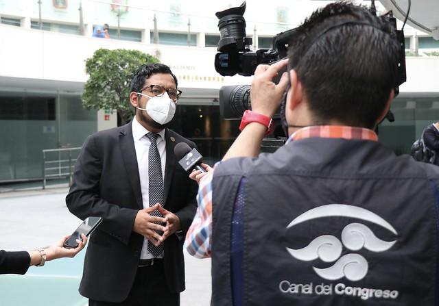 23/06/2021 Entrevista Diputado Alejandro Viedma Canal Del Congreso Senado De La República