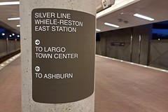 Misspelled sign at Wiehle-Reston East station [01]