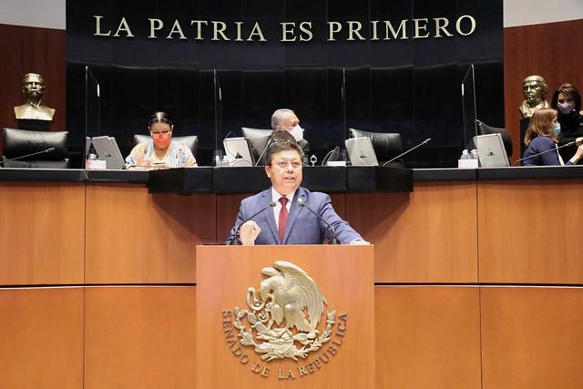 15/06/2021 Tribuna Diputado Rubén Cayetano Sesión Permanente Senado De La República