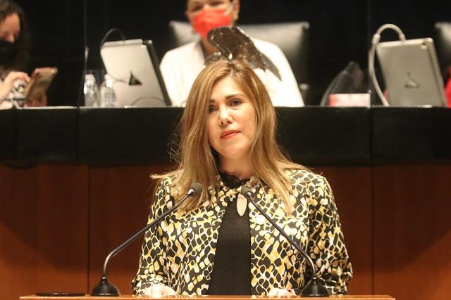 23/06/2021 Tribuna Diputada Noemi Alemán Sesión Permanente Senado De La República