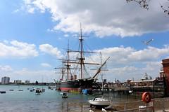 HMS Warrior 2021