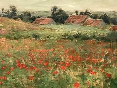 2. Poppy Field (Landscaper at Giverny) (Willard Metcalf)