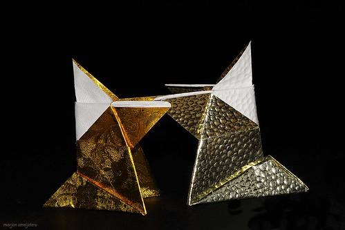 Origami Sumo Wrestler (Traditional)