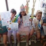 Diploma uitreiking 3e kleuterklas Juf Katrien