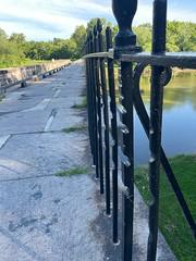 Rope burns at Monocacy Aqueduct