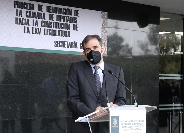 28/06/2021 Conferencia De Prensa Consejero Presidente Del INE Lorenzo Córdova